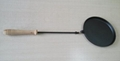 Long Handle Cast Iorn Cooking Pan Round Fry Pans Outdoor Cookware