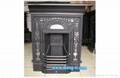 Casr Iron Fireplace Square Stove