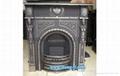 Casr Iron Fireplace Square Stove
