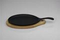 Cast Iron Fajita pan / Steak Platter