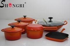 鑄鐵搪瓷燉鍋