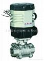蓝帕LPAJ12-精小型气动+电动螺纹球阀DN8-25 1