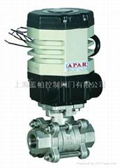 藍帕LPAJ12-精小型氣動+電動螺紋球閥DN8-25