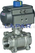 意大利藍帕LPA12電動三片式G螺紋球閥