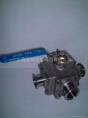 电动/气动/手动进口三通卫生级球阀