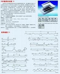 鋼結構建筑專用FRP採光板