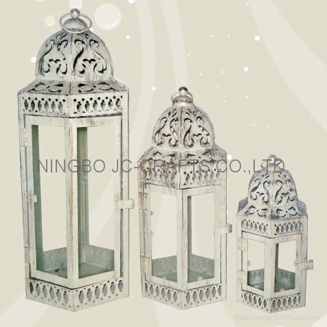 Metal candle lantern 3