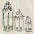 Metal candle lantern 2