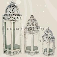 Metal candle lantern 1