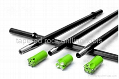 taper drilling tools - tapered rock tools - tapered bits - tapered drill rod