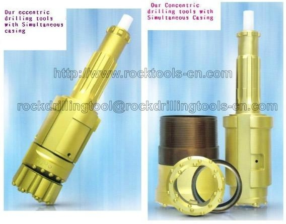 rock drilling equipment manufacturers - odex drilling systems,overburden DTH bit