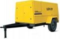 Electric Portable Screw Air Compressor
