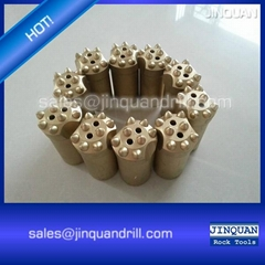 32mm 34mm 36mm 38mm 7° tapered button drill bits 8 buttons