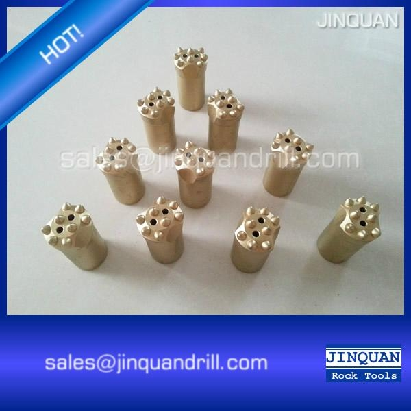 q8 taper button bit