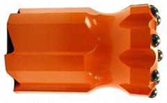 button rock drill bit 76mm