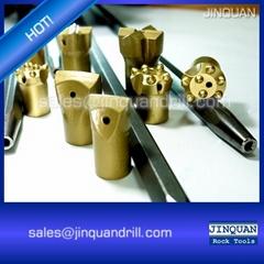 Tapered Rock Drilling Tools - Tapered Drill Bit - 7 Taper Degree Chisel Bits