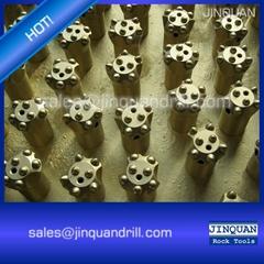 7 taper degree 32mm 34mm 36mm 38mm tapered mining ballistic button bit 7 buttons