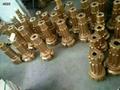 DTH eccentric drill bits