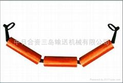 吊挂式槽形托輥組