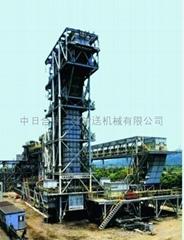 大能力垂直提升帶式輸送機