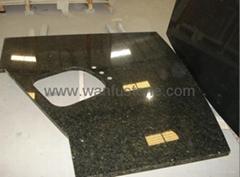 Granite Slab Kitchen Cou