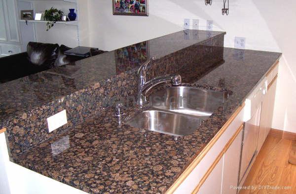 Granite Slab Kitchen Countertops amp Bar Top WF Countertop