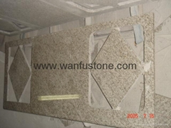 Granite Kitchen Countertops for prefab and customized