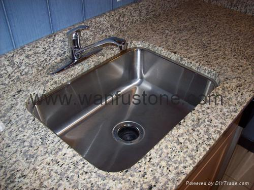 Granite Kitchen Countertops for prefab and customized 2