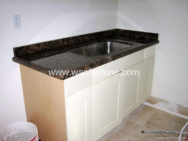 Granite Kitchen Countertops for prefab and customized 4