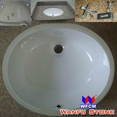 Ceramic Basin Bathroom Porcelain Sink