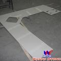 White Quartz Kitchen Countertop 1