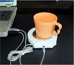 USB保温杯垫