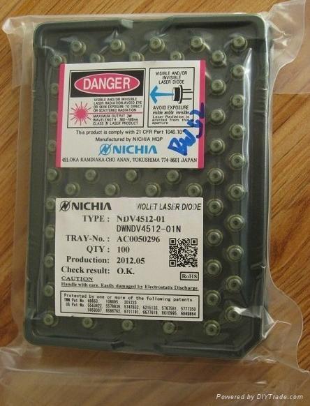 405nm/200mW NDV4512 Blue violet LaserDioad 1
