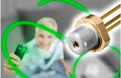 全新原装进口欧司朗50mW PL515 530nm 30mW绿光激光管LD