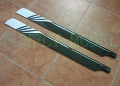 550mm  Fiberglass  Rotor Blade/RC Helicopter