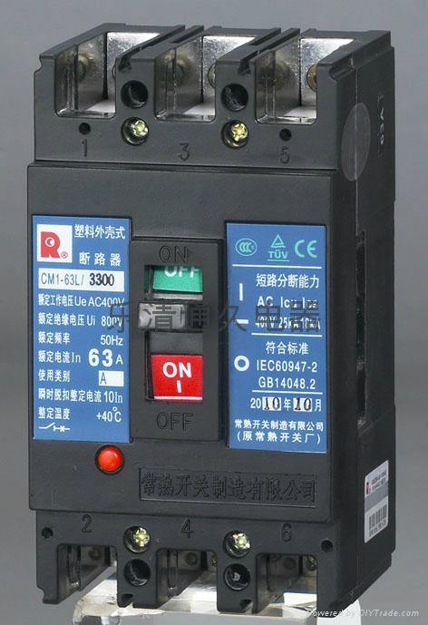 CM1 100型塑壳断路器 2