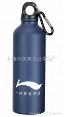 金属运动水壶