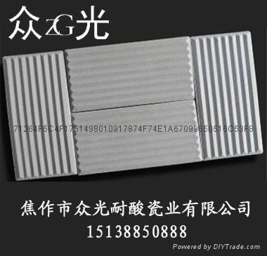 焦作眾光牌無釉耐磨耐酸瓷磚 4