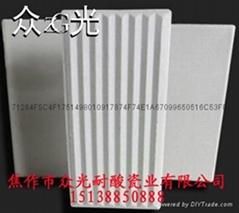 焦作眾光牌無釉耐磨耐酸瓷磚