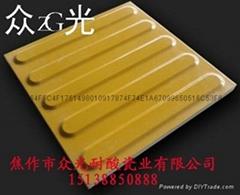 眾光盲道磚規格300*300*15/20mm