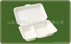外賣專用1000ml甘蔗漿飯盒