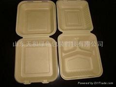 快餐外賣專用可降解8寸大盒