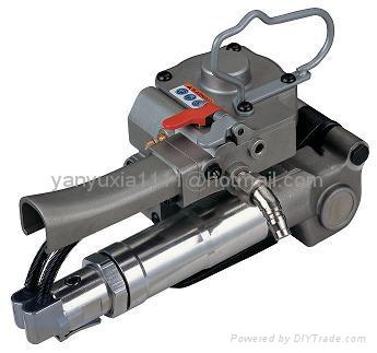 XQD-19氣動PET塑鋼帶打包機  1