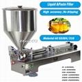 One /Two Nozzle Semi Automatic Pneumatic E-liquid filling machine