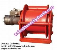 Hydraulic Winch for drilling rig or crane