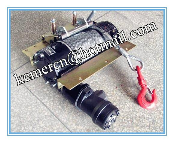Hydraulic Worm Gear Winches : Worm gear hydraulic winch recovery skype