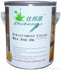 ZHUBANGP住邦派室內透明木蠟油