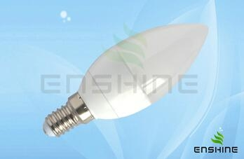 LED candle bulb 1