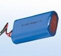 Recharge Hand held LED Lamp Battery 621899-1200mAh 3.7V 3