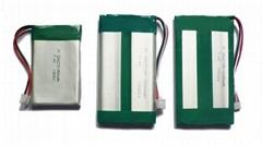 便攜DVD電池 8027100-2200mAh 3.7V